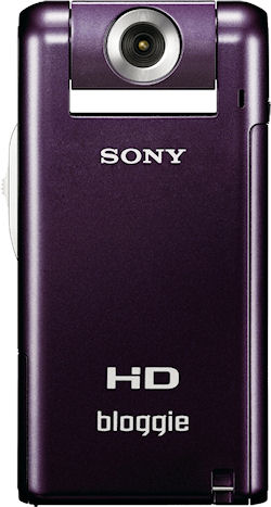 Sony's Bloggie MHS-PM5 digital camcorder. Photo provided by Sony Electronics Inc. Click for a bigger picture!