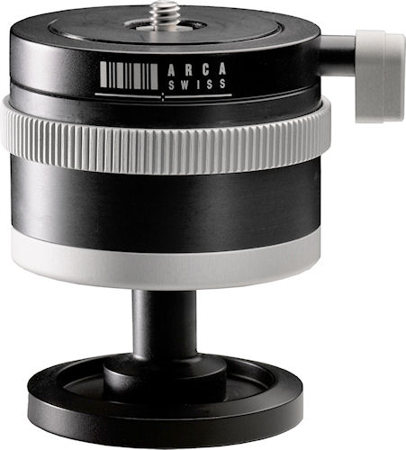Arca Swiss' Monoball p0 tripod head. Photo provided by ARCA-SWISS. Click for a bigger picture!