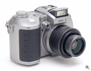 Sony's MVC-CD400 digital camera. Copyright © 2002, The Imaging Resource. All rights reserved. Click for a bigger picture!