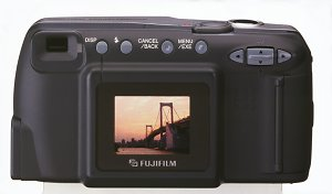 Fuji FinePix 1400 Zoom Rear View - click for a bigger picture!