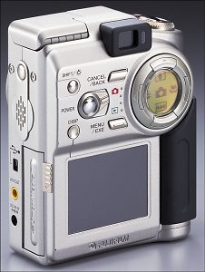 Fuji FinePix 4700 Zoom Rear View - click for a bigger picture!