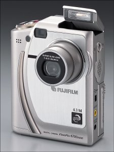 Fuji FinePix 4700 Zoom Front View - click for a bigger picture!