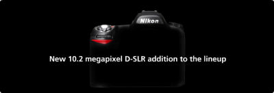 New 10.2 megapixel D-SLR addition to the lineup