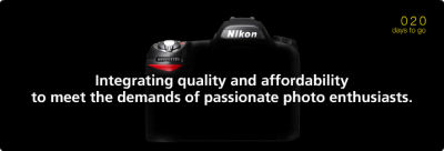 Integrating quality and affordability to meet the demands of passionate photo enthusiasts. 020 days to go