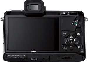 The Nikon V1 compact system camera with 10-100mm f/4.5-5.6 VR lens. Photo provided by Nikon Inc. Click for a bigger picture!