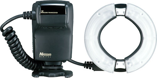 Nissin MF18 ring flash. Photo provided by Nissin Japan Ltd. Click for a bigger picture!