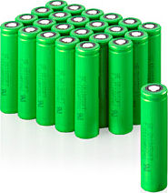Sony's Olivine-type lithium iron phosphate based batteries. Photo provided by Sony Corp. Click for a bigger picture!