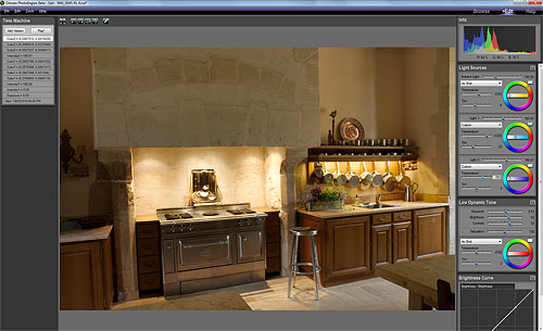 Using the HDR ReLight tool in Oloneo PhotoEngine. Screenshot provided by Oloneo SAS. Click for a bigger picture!