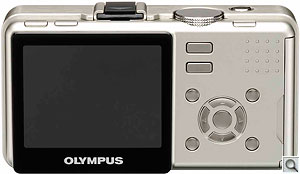 Olympus Micro Four-Thirds concept camera. Courtesy of Olympus, with modifications by Zig Weidelich. Click for a larger image.