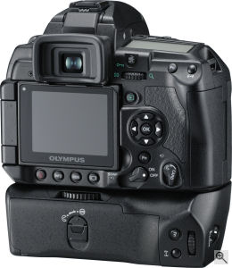 Olympus' unnamed concept camera. Courtesy of Olympus, with modifications by Michael R. Tomkins. Click for a bigger picture!