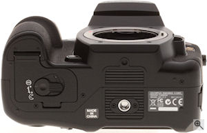 Olympus' E-3 digital SLR. Copyright © 2007, The Imaging Resource. All rights reserved. Click for a bigger picture!