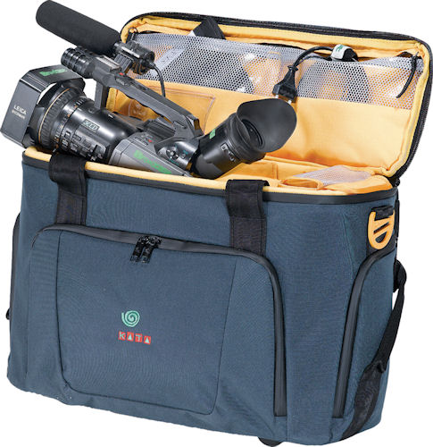 Kata's One Man Band camcorder bag. Photo provided by Kata Vitec Ltd. Click for a bigger picture!