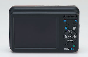Pentax's Optio E90 digital camera. Photo provided by Pentax. Click for a bigger picture!