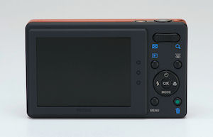 Pentax's Optio H90 digital camera. Photo provided by Pentax. Click for a bigger picture!