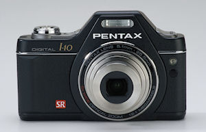 Pentax's Optio I-10 digital camera. Photo provided by Pentax. Click for a bigger picture!