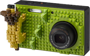 Pentax's Optio NB1000 digital camera. Photo provided by Hoya Corp. Click for a bigger picture!