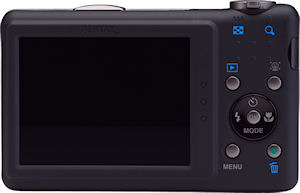 Pentax's Optio RZ10 digital camera. Photo provided by Pentax Imaging Co. Click for a bigger picture!
