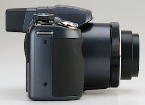 Pentax's Optio X90 digital camera. Photo provided by Pentax Imaging Co. Click for a bigger picture!