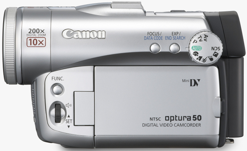 news canon announces three new camcorders rh imaging resource com A Canon Elura Canon Optura 20