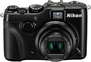 Nikon's P7100 digital camera. Photo provided by Nikon Inc. Click for a bigger picture!