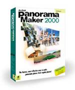 Arcsoft's Panorama Maker 2000 packaging. Courtesy of Arcsoft Inc.
