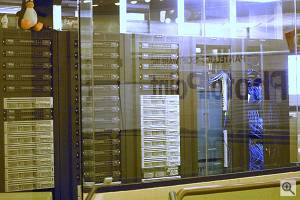 Pantellic Software's server room. Courtesy of Andrew Murphy, used by permission.  Click for a bigger picture!