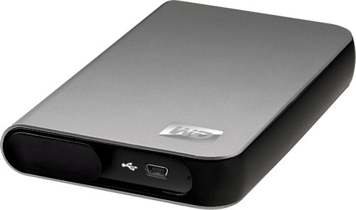Western Digital's My Passport Essential SE portable drive. Photo provided by Western Digital Corp. Click for a bigger picture!