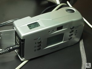 Polaroid's PDC640M digital camera. Copyright (c) 2001, Michael R. Tomkins, all rights reserved. Click for a bigger picture!