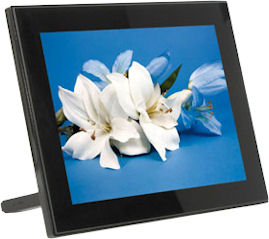 Jobo's PLANO 8 picture frame, model number PDJ-080. Photos provided by Jobo AG.