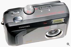 Toshiba's PDR-3300 digital camera. Copyright © 2002, Michael R. Tomkins. All rights reserved. Click for a bigger picture!