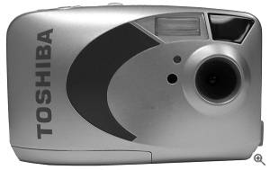 Toshiba's PDR-M11 / PDR-M21 camera body. Courtesy of Toshiba - click for a bigger picture!