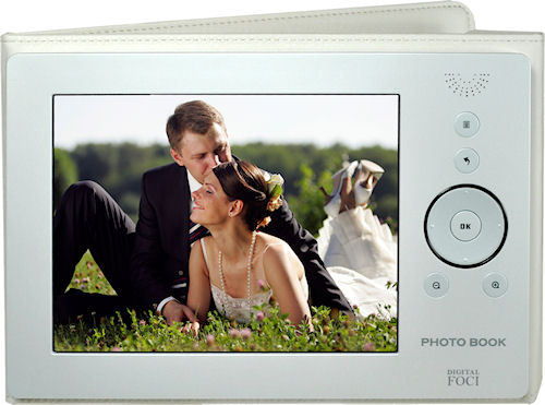 Digital Foci's Pearl White Photo Book. Photo provided by Digital Foci. Click for a bigger picture!