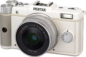 The Pentax Q compact system camera. Photo provided by Pentax Imaging Co. Click for a bigger picture!