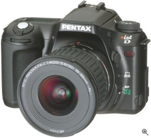 Pentax's *ist D digital SLR. Image provided by Yamada Kumio / digitalcamera.jp. Used by permission.