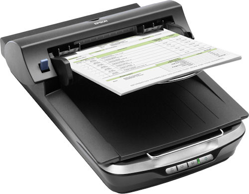Epson's Perfection V500 Office scanner. Photo provided by Epson America Inc. Click for a bigger picture!