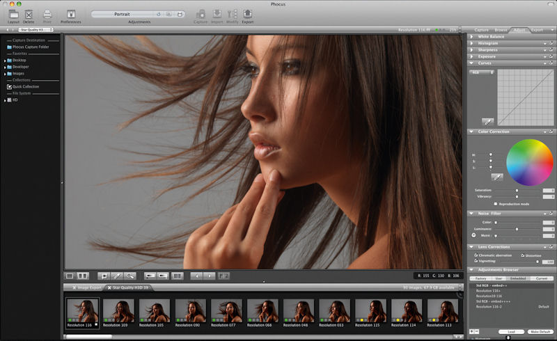 Add hasselblad phocus to your list of raw image editors.
