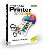 Arcsoft's PhotoPrinter Pro 2000 packaging. Courtesy of Arcsoft Inc.