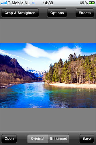 VeprIT's Photo Sense is now available for Apple iOS devices. Screenshot provided by VeprIT. Click for a bigger picture!