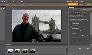 Adobe Photoshop Elements 8 for Mac. Screenshot provided by Adobe Systems Inc. Click for a bigger picture!