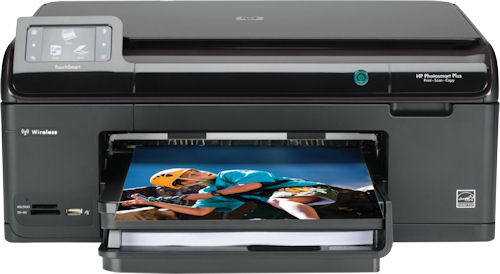 HP's Photosmart Plus printer. Photo provided by Hewlett Packard Co. Click for a bigger picture!