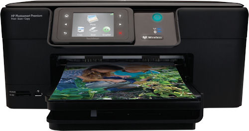 HP's Photosmart Premium printer. Photo provided by Hewlett Packard Co. Click for a bigger picture!