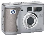 HP's PhotoSmart 935 digital camera. Courtesy of HP, with modifications by Michael R. Tomkins.