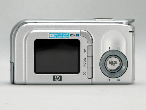 HP's Photosmart M22 digital camera. Copyright © 2005, The Imaging Resource. All rights reserved.