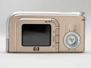 HP's Photosmart M23 digital camera. Copyright © 2005, The Imaging Resource. All rights reserved.