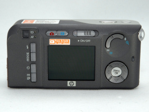 HP's Photosmart M417 digital camera. Copyright © 2005, The Imaging Resource. All rights reserved.