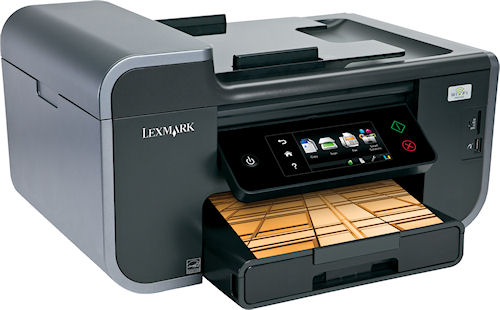 Lexmark's Pinnacle Pro 901 all-in-one device. Photo provided by Lexmark International Inc. Click for a bigger picture!