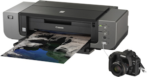 Canon's PIXMA Pro9000 Mark II photo printer. Photo provided by Canon USA Inc. Click for a bigger picture!
