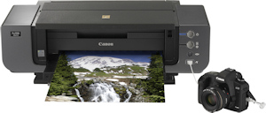 Canon's PIXMA Pro9500 Mark II photo printer. Photo provided by Canon USA Inc. Click for a bigger picture!