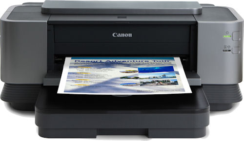 Canon's PIXMA iX7000 inkjet printer. Photo provided by Canon USA Inc. Click for a bigger picture!