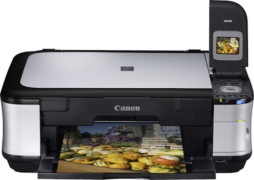 Canon's PIXMA MP560 all-in-one. Photo provided by Canon USA Inc. Click for a bigger picture!